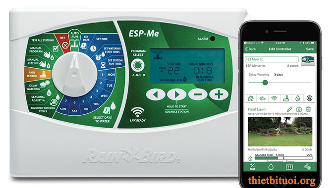 Bộ điều khiển tưới ESP-Me, Bộ điều khiển tưới Rainbird