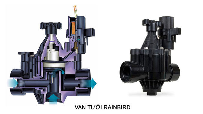 VAN ĐIỆN TỪ RAINBIRD - VAN TƯỚI RAINBIRD